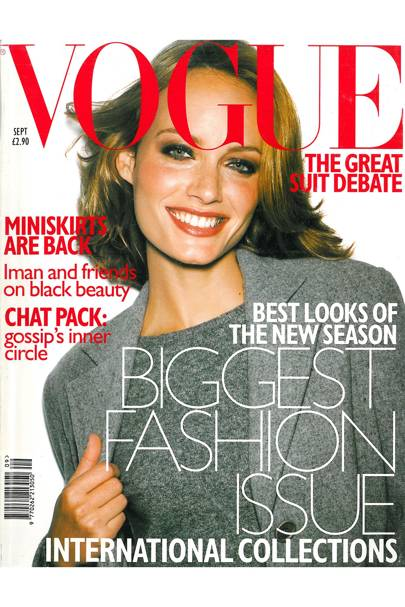 Vogue Cover, September 1997