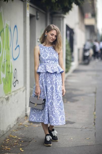 Kzenia Lapshova, handbag designer