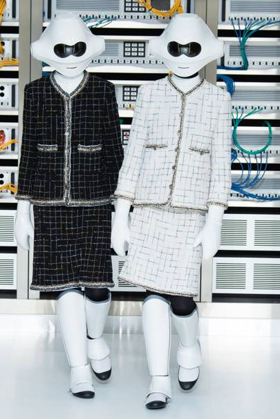 Chanel's Chic Robots