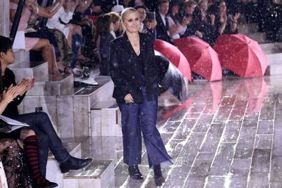 Maria Grazia Chiuri also reflected on current Dior affairs