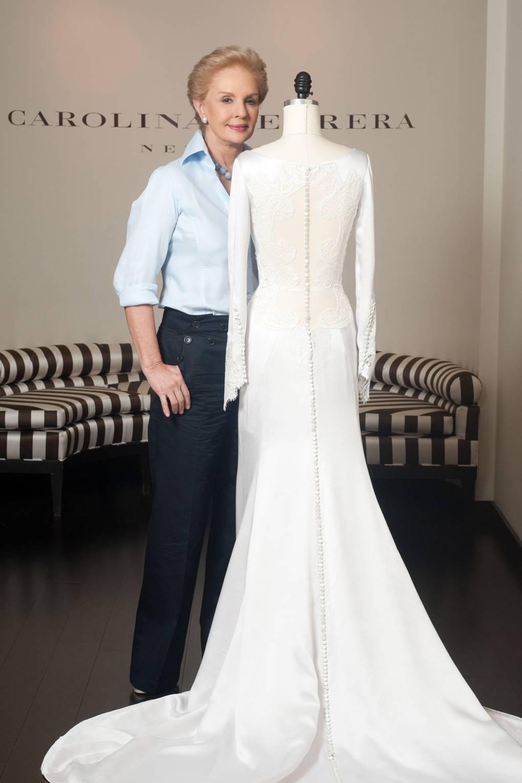 Twilight wedding dress carolina herrera interview british vogue junglespirit Images