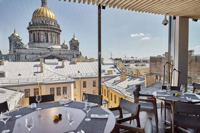 Eat: Mansarda, the rooftop restaurant