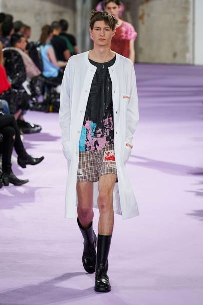 Raf Simons Spring/Summer 2020 Menswear show report   British