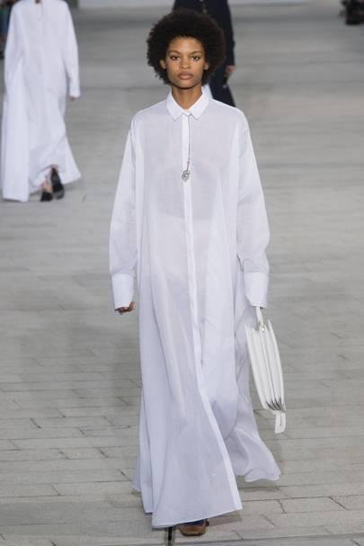 Robe noire et blanche school rag
