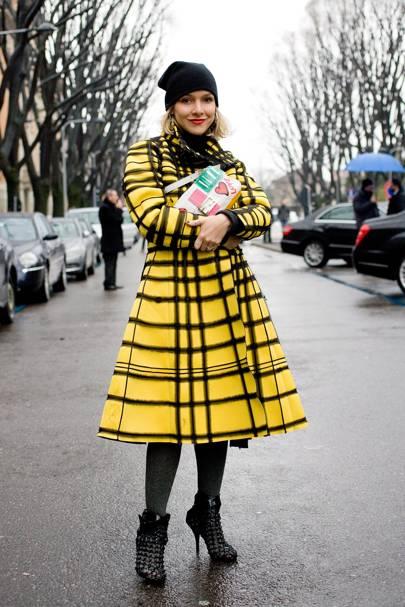 Yasmine Sterea, fashion editor