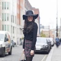 Alice Wharf, fashion student