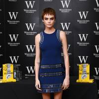 'Mirror, Mirror: A Twisty Coming-of-Age Novel about Friendship and Betrayal from Cara Delevingne' Book Signing, London - October 4 2017