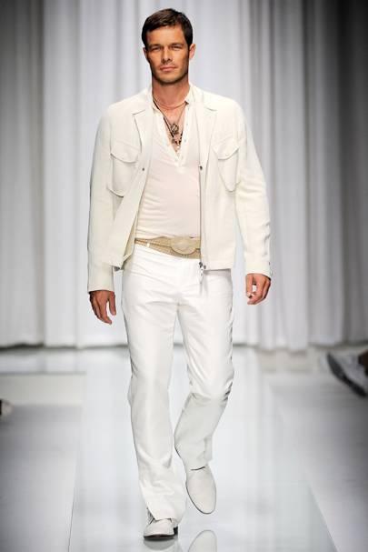 e9557544cafa Versace Spring Summer 2010 Menswear show report   British Vogue