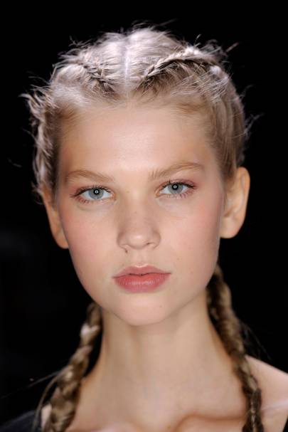 Best Plait Hairstyles Of Spring 2017 British Vogue