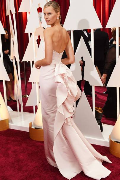 Karolina Kurkova at the 2015 Academy Awards