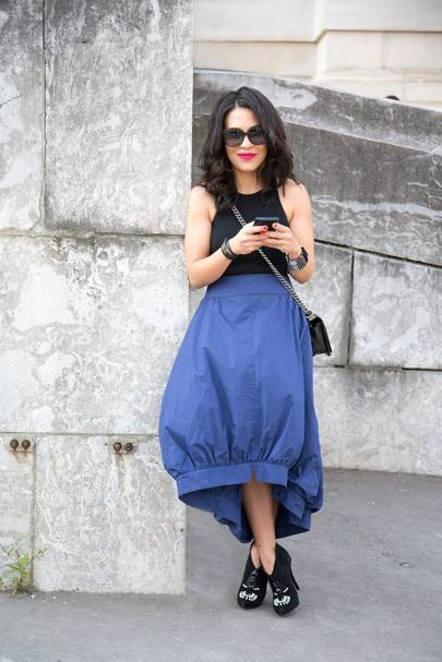 Gina Ortega, stylist