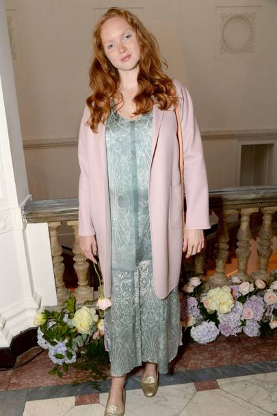 Lily Cole - May 2015