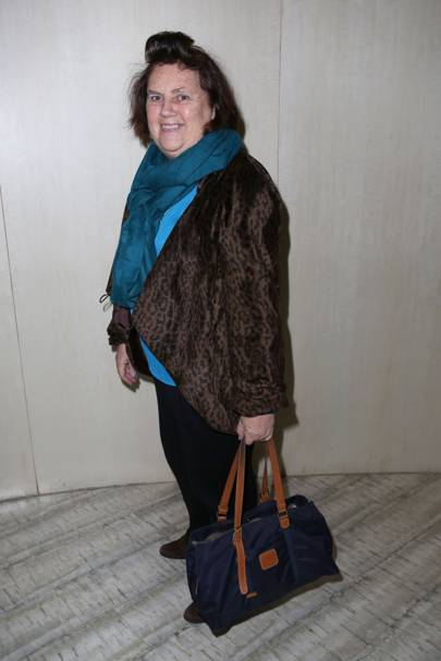 Suzy Menkes, The New York Times fashion editor