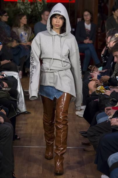 The Trend Test Thigh High Cowboy Boots British Vogue