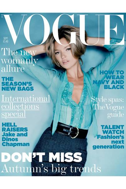 Vogue cover, September 2005