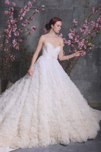 Christian Siriano Spring/Summer 2018 Bridal Collection