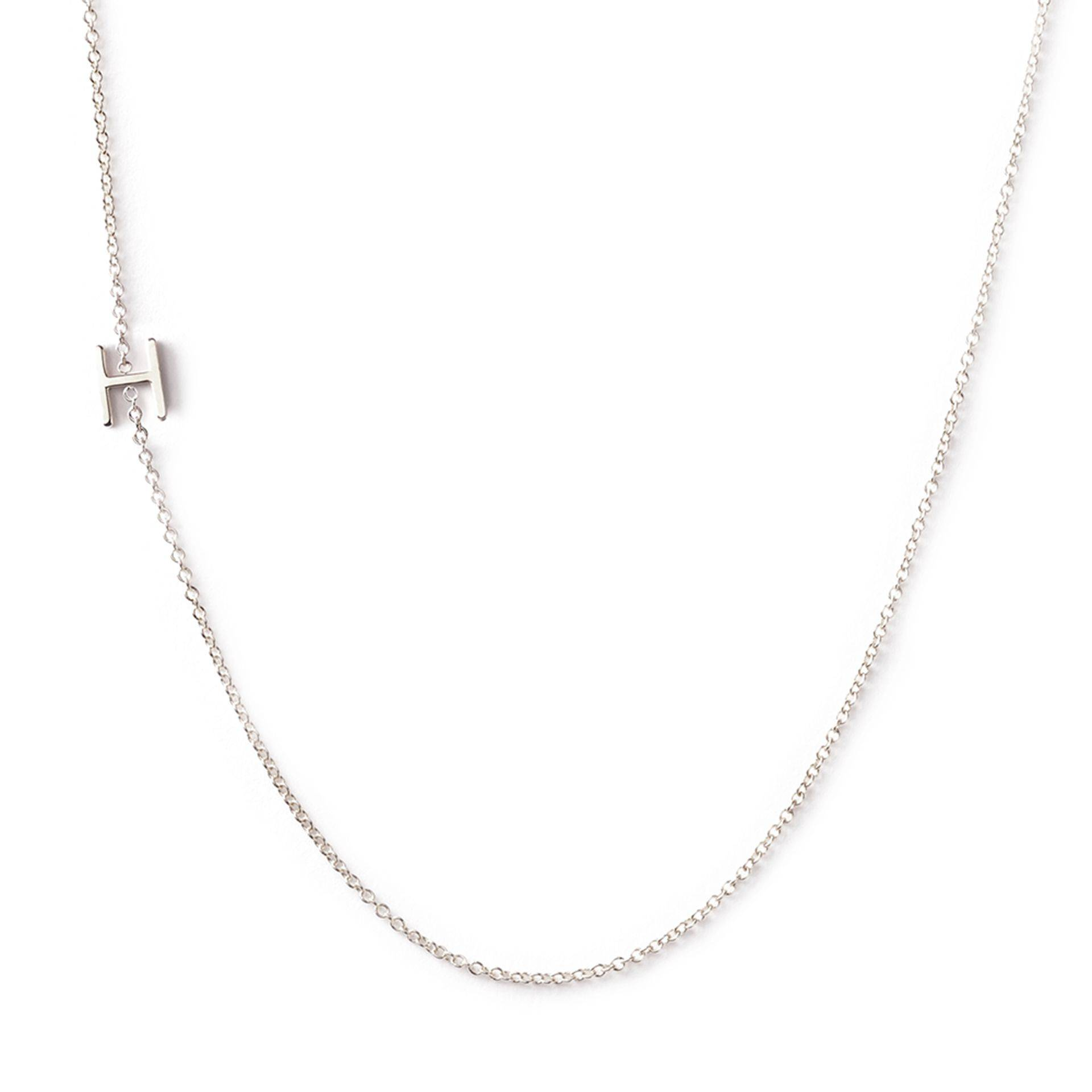 Meghan Markle Initial Necklace Maya Brenner