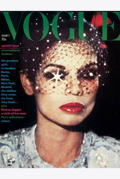 March 1974 – Bianca Jagger