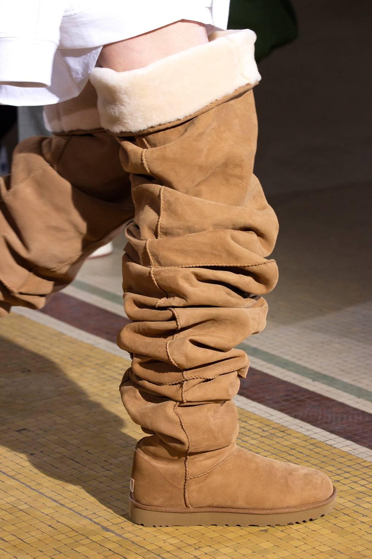 f97b5295873 Y/Project Debuts Thigh-High Ugg Boots At Paris Fashion Week Mens ...