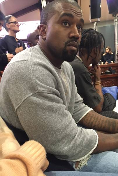 Kanye's Front-Row Seat