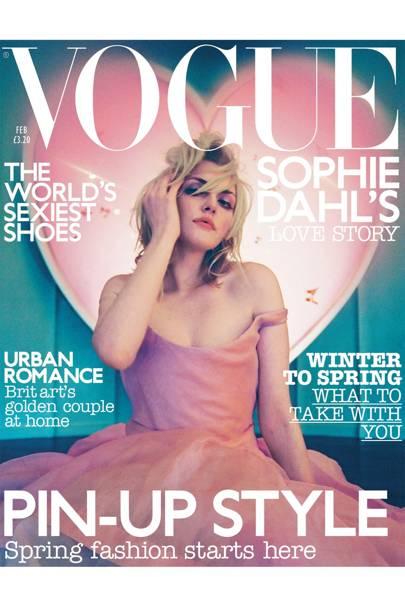 Vogue cover, February 2003