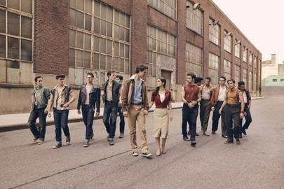 Something's Coming: Here's A First Look At Steven Spielberg's West Side Story Remake
