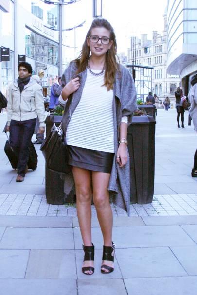 Georgie Wood, fashion student
