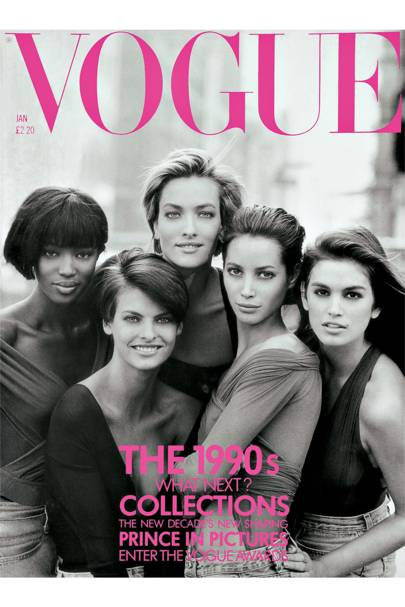 Vogue Cover January 1990