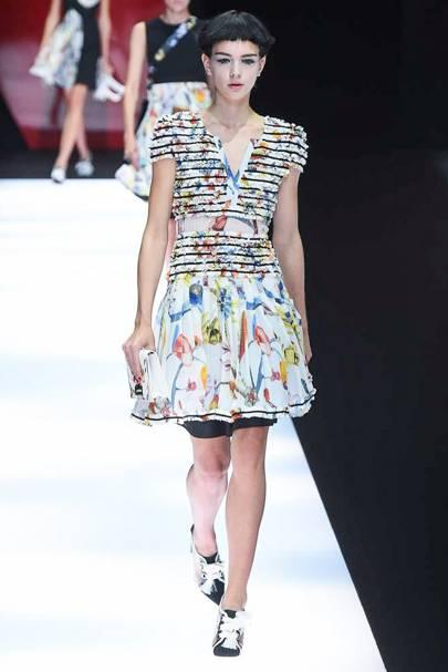 Giorgio Report Wear To Armani Show 2018 Springsummer Ready zPwBrOzq