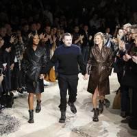 Naomi and Kate walked the runway