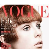 Vogue cover, April 2013