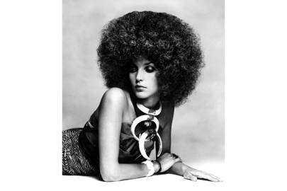 'Afrodizzyaction', Vogue September 1st 1969, by Clive Arrowsmith