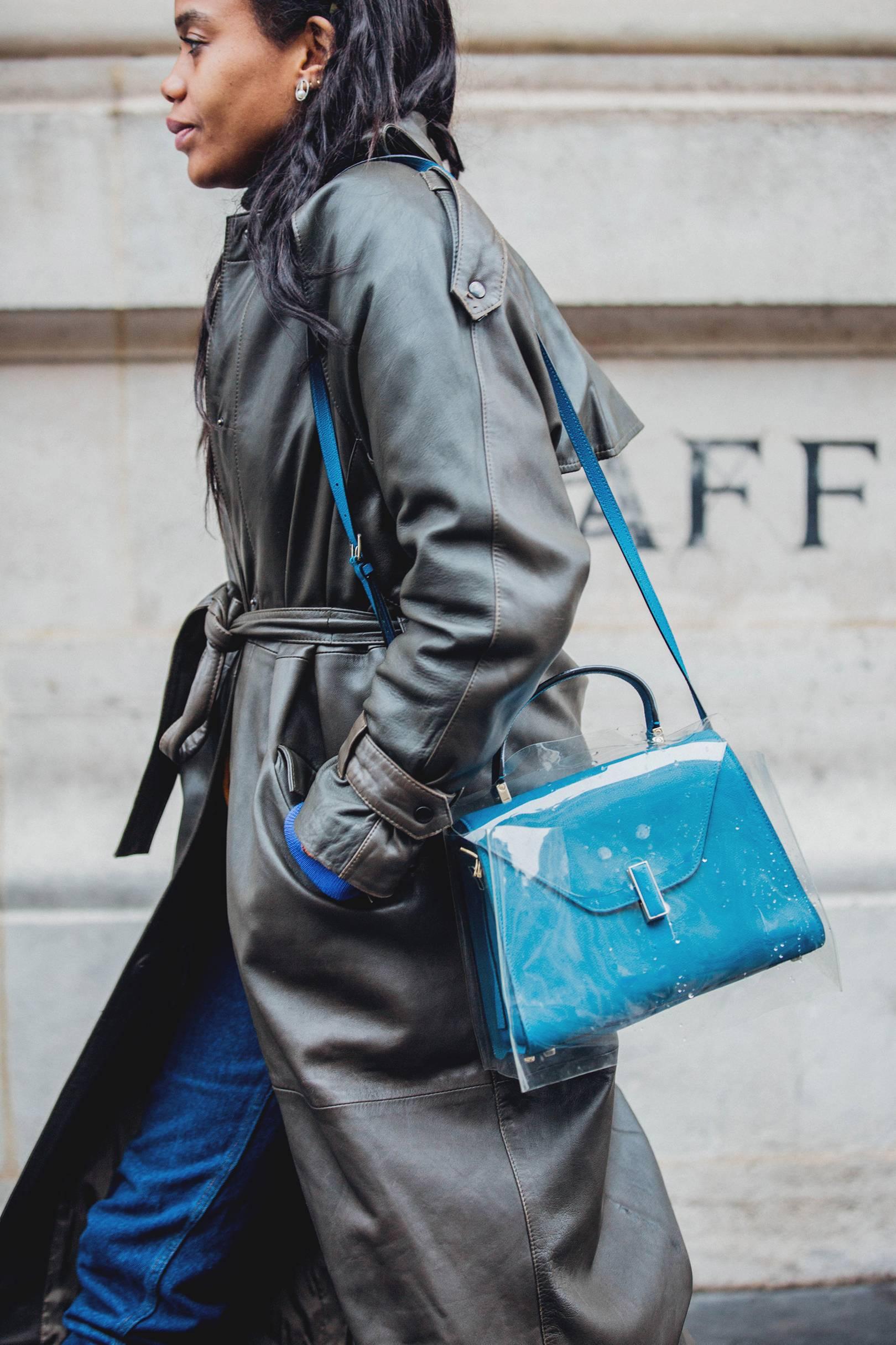 10890235eab8 Street Style  How To Wear A Clear Bag