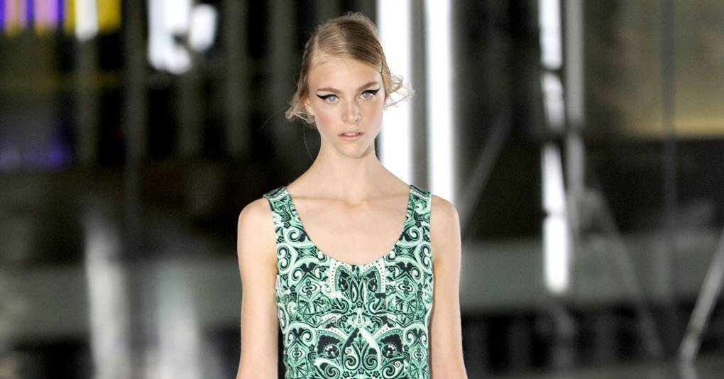 e9a8fad1774324 Jonathan Saunders Spring Summer 2012 Ready-To-Wear show report ...