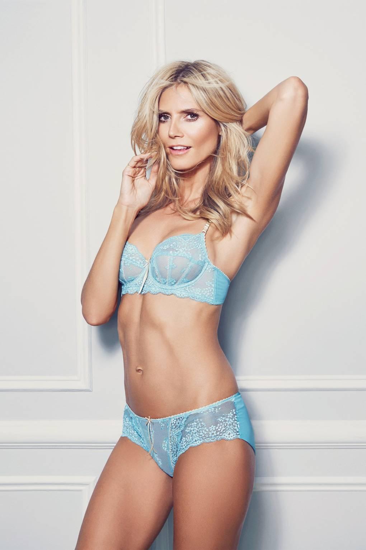 Watch Heidi klum in lingerie video