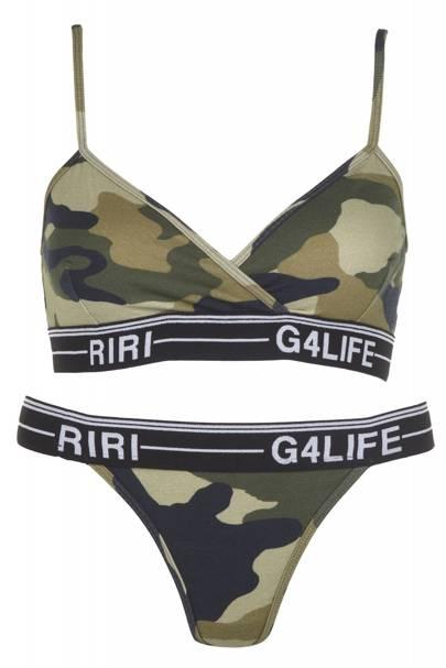 Camouflage underwear set, £25
