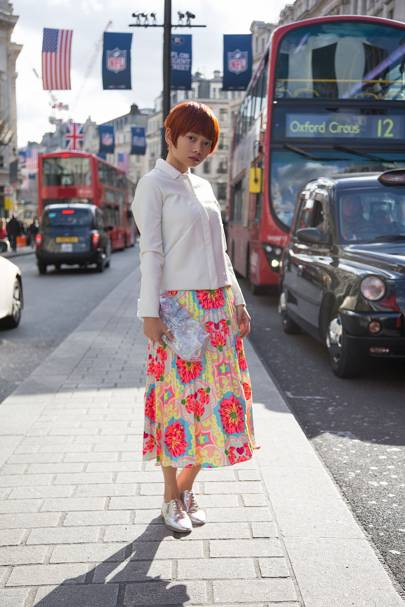 Elamas Yip, fashion stylist