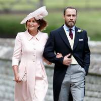 Carole Middleton and James Middleton