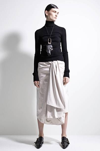 The 'shkirt' (shirting-skirt) is autumn's key piece