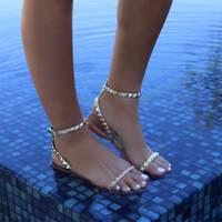 Aria Sandals by Alexandria Brandao