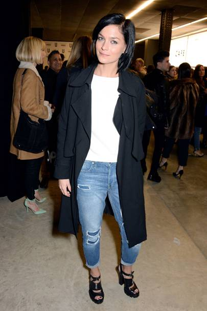 Topshop Unique show - February 16 2014