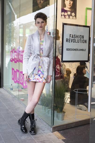 Ellie Davies, model