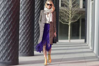 Dressed-up fringing