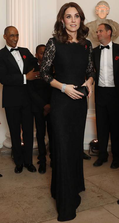 dc4c0ebf01490 The Duchess Shines In Diane von Furstenberg And Diamonds | British Vogue