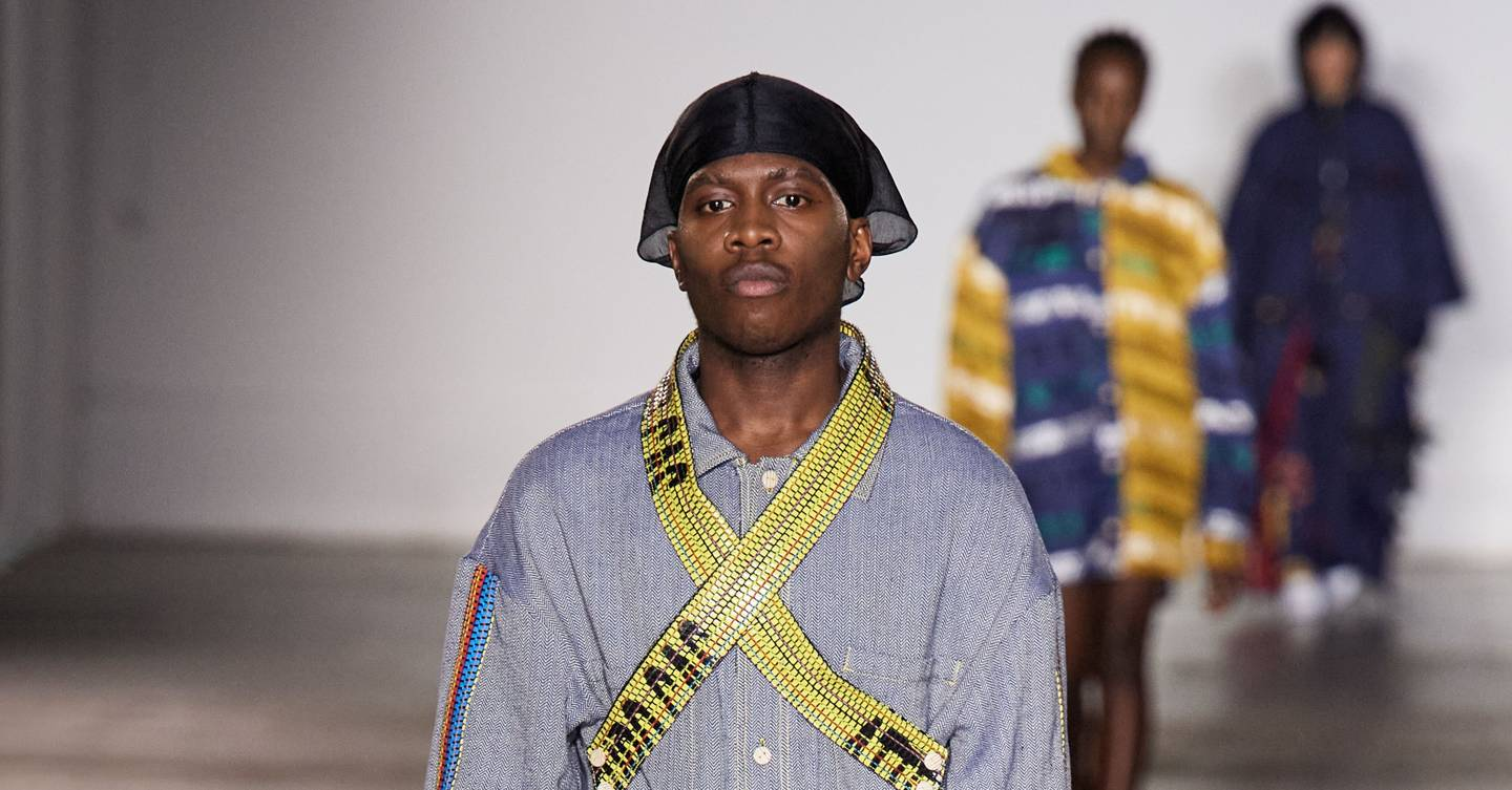 Allegra Rose Edwards bethany williams autumn/winter 2020 menswear show report