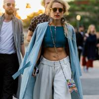The street style look: Skin is in
