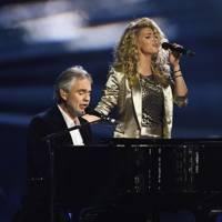 Andrea Bocelli and Tori Kelly