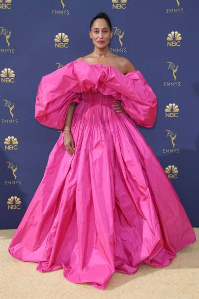 Tracee Ellis Ross Shut Down The Emmys In Stunning Valentino Couture