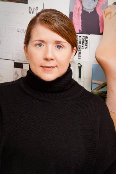 Louise Wilson - Central Saint Martins MA fashion course director
