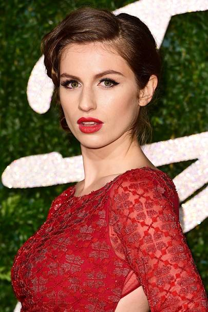British Fashion Awards, December 2014